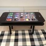 Das iPhone 5 als Tisch – zum Originalpreis